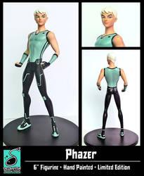 Phazer Statue Final Version by RichBernatovech