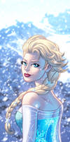 Elsa Panel Art