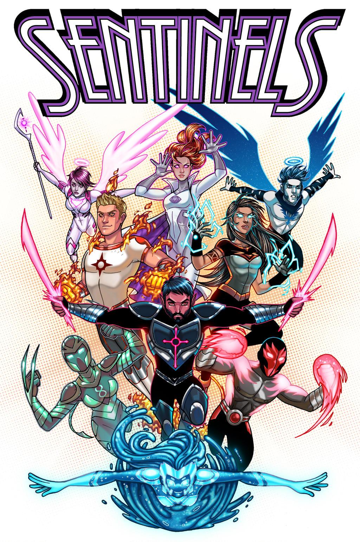 Sentinels Anthology #2 Cover