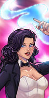 Zatanna Panel Art