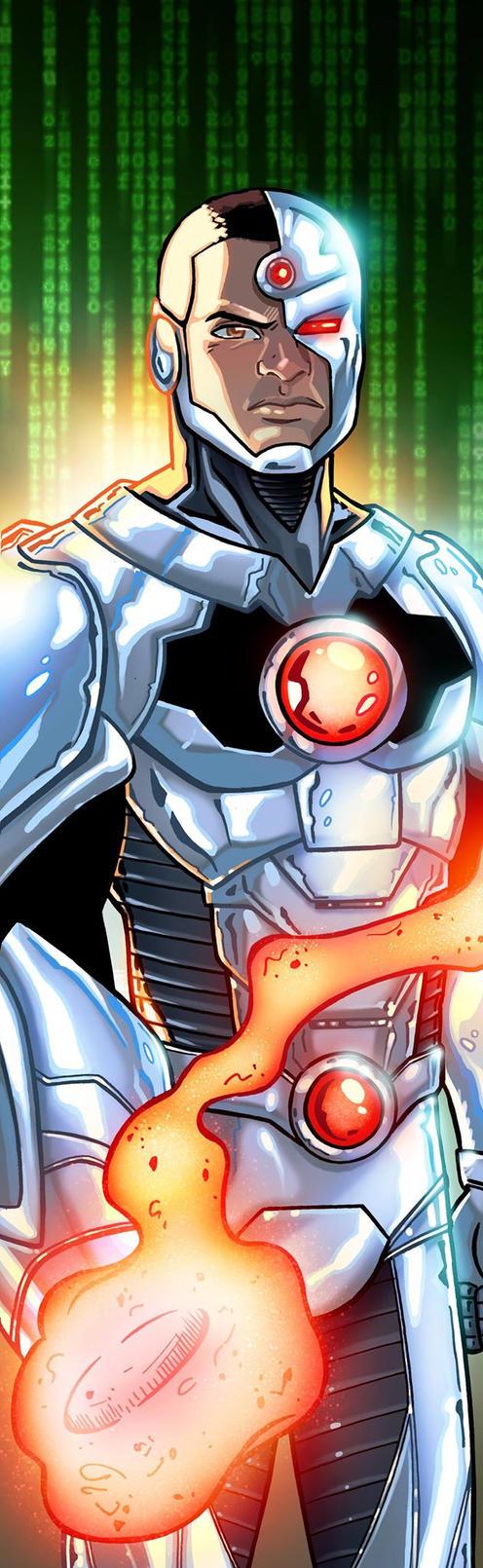 Cyborg Panel Art by RichBernatovech