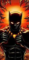 Black Panther Panel Art