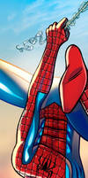 Spiderman Panel Art