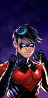 Nightwing Panel Art 2