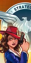Agent Carter Panel Art