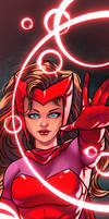 Scarlet Witch Panel Art