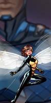 Wasp Panel Art