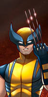 Wolverine Panel Art