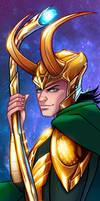 Loki Panel Art