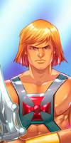 He-Man Panel Art