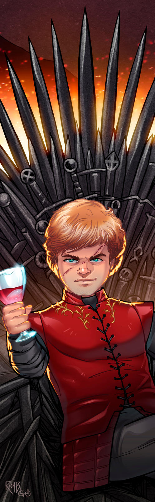 Tyrion Panel Art by RichBernatovech