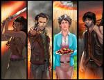 Walking Dead Panel Grouping