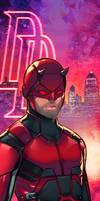 Daredevil Panel Art