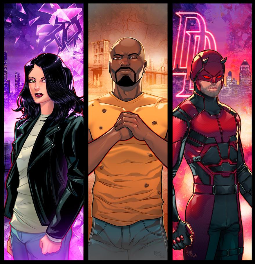 Netflix Panel Grouping by RichBernatovech