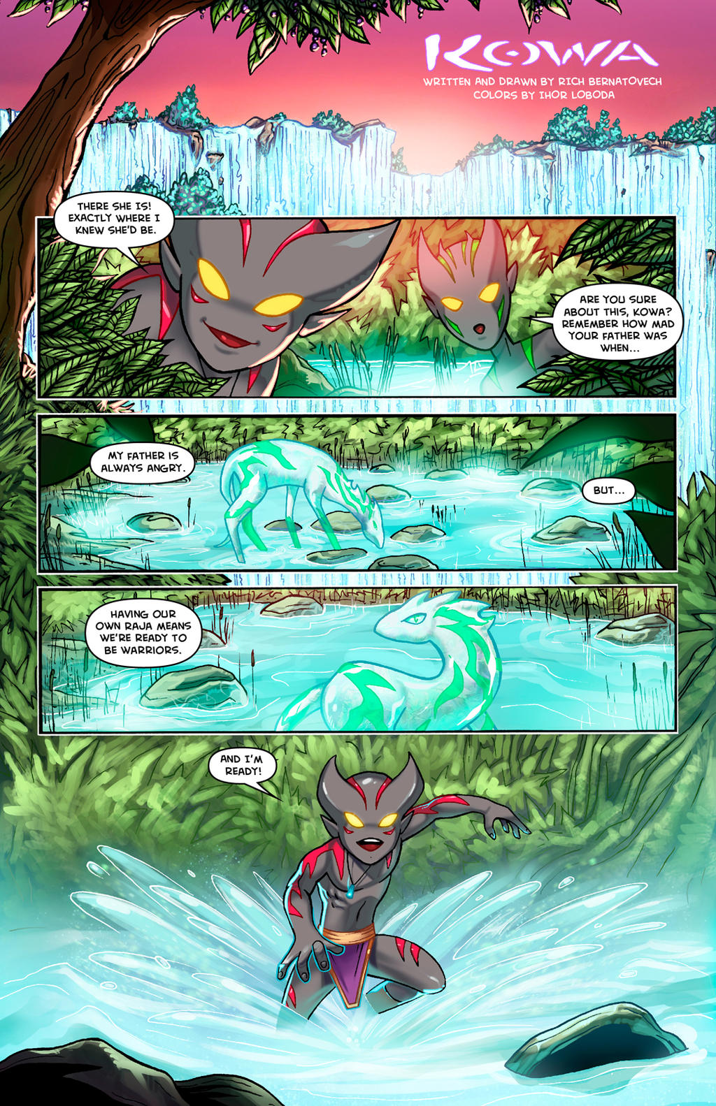 KOWA WEBCOMIC PAGE 1 by RichBernatovech