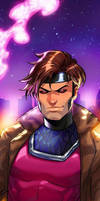 Gambit Panel Art 2 by RichBernatovech