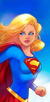 Supergirl Panel Art 2