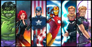 Avengers Panel Grouping