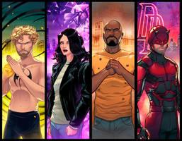 Marvel Netflix Panel Grouping 2