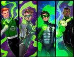 Green Lanterns Panel Grouping