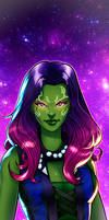 Gamora Panel Art