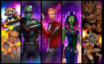 Guardians of the Galaxy Panel Grouping