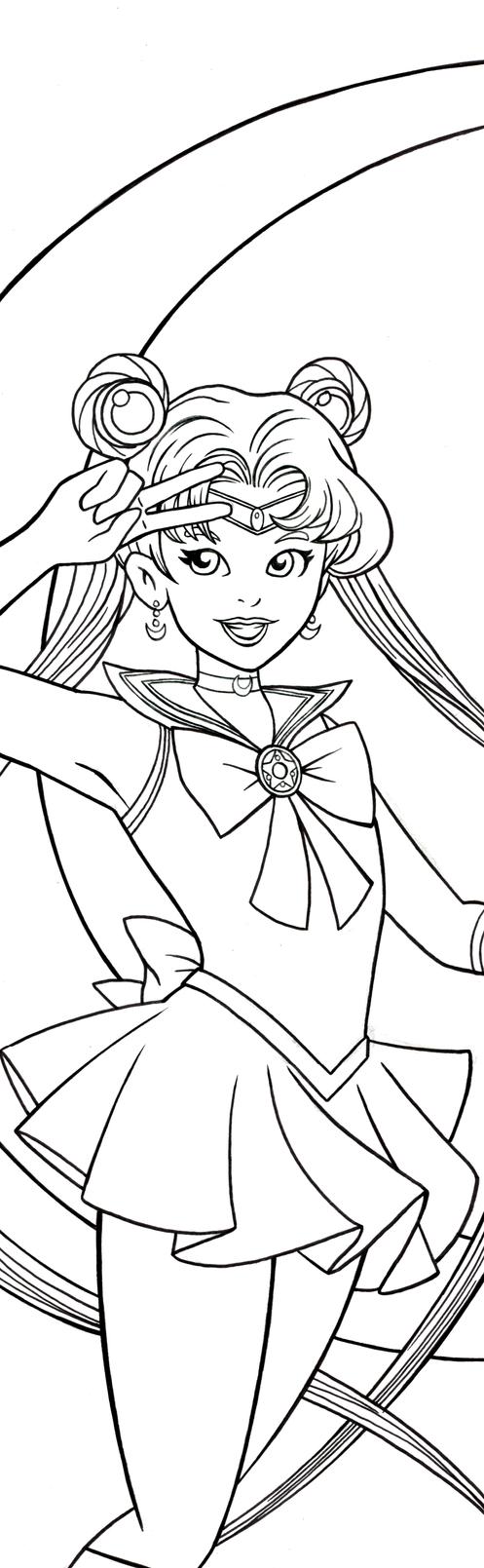 Sailor Moon Art Inks by RichBernatovech