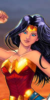 Wonder Woman Panel Art 2