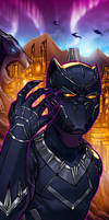 Black Panther Panel Art 2