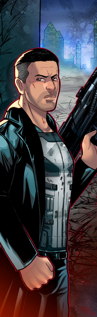 Punisher Panel Art