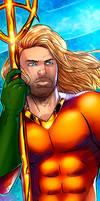 Aquaman Panel Art 2