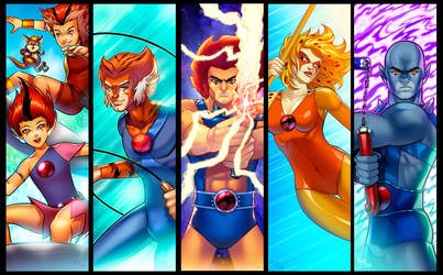 Thundercats Grouping by RichBernatovech