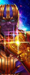 Thanos Panel Art by RichBernatovech