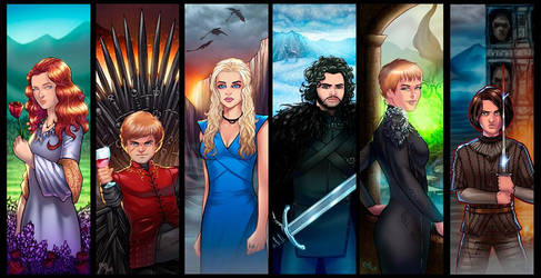 Game of Thrones Grouping - Updated!