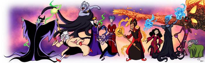 VERSUS: Disney Princesses Vs Villans - 2nd Half