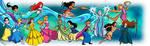 VERSUS: Disney Princesses Vs Villains - 1st Half by RichBernatovech