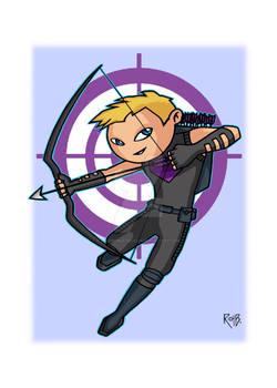 Toon Hawkeye