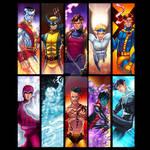X-Guys Panel Art Grouping