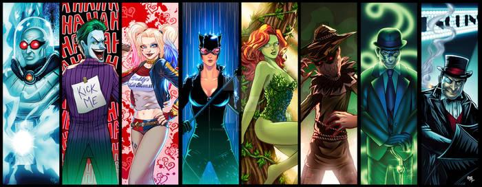 Batman Villains Grouping Updated