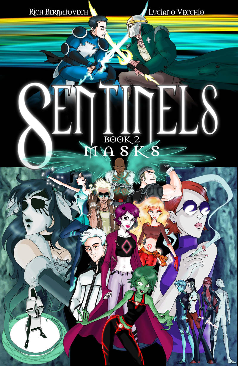 Sentinels Book 2: Masks