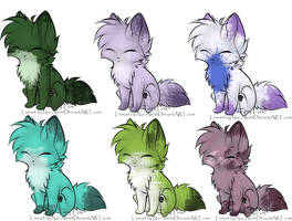 Tiny fox adoptables (Free!) by Silversadopts