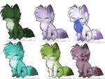 Tiny fox adoptables (Free!)