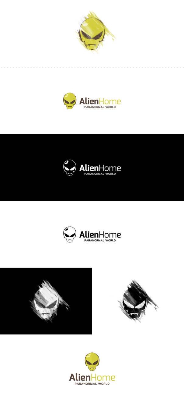 AlienHome logo by djtrus