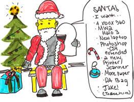 Santa, Help? by SpencerMel