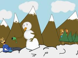 Frosty Gets Payback by SpencerMel