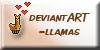 deviantART-llamas Icon by SpencerMel