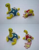 AT: Shuckles by Foureyedalien