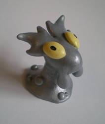 Collab: Shiny Slugma by Foureyedalien