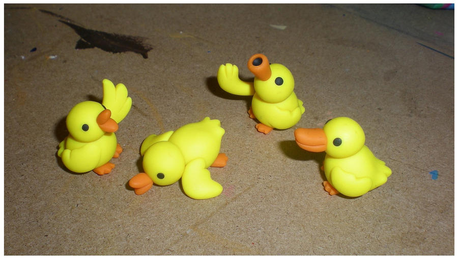 A Bunch of Baby Ducks by Foureyedalien on DeviantArt