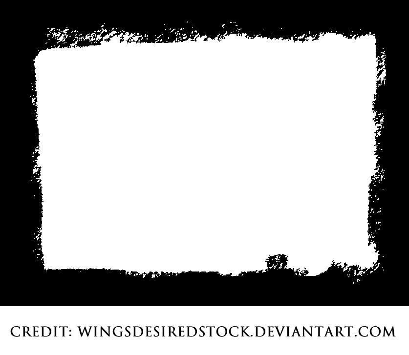 Grunge Frame 01 by wingsdesiredstock